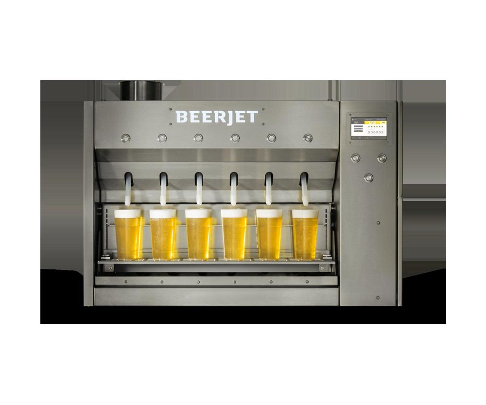 Австрийцы изобрели автомат для розлива пива.