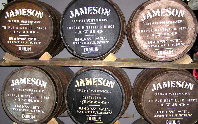 Американские пивоварни начали сотрудничество с виски Jameson