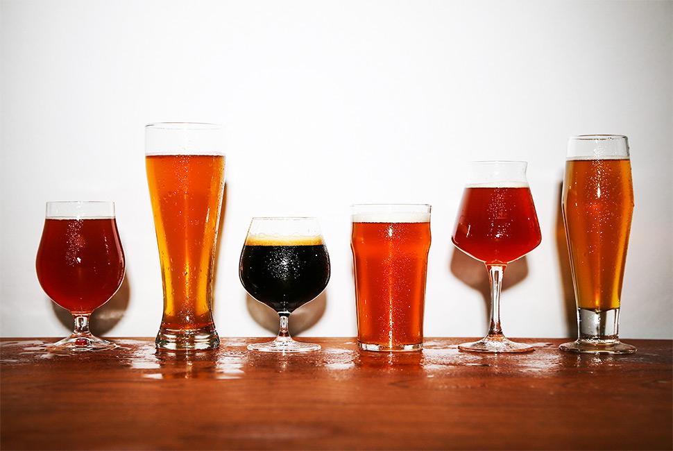 Гайд по бокалам для крафтового пива