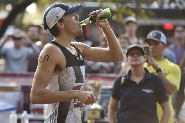 Установлен новый мировой рекорд в «пивной миле»