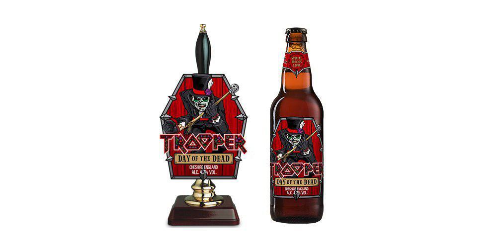 Музыканты Iron Maiden выпустят лимитированную серию пива ко Дню мертвых