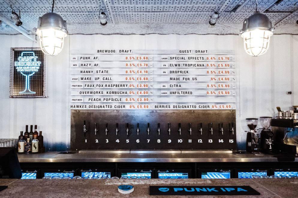 BrewDog відкриває перший в світі бар з безалкогольним пивом