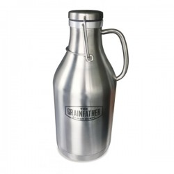 Grainfather Stainless Steel Swing Top Growler - 2л