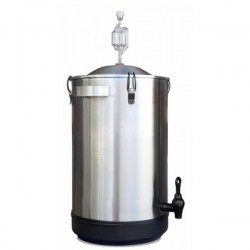 Ферментер 30л с водяным затвором из нержавеющей стали Mangrove Jack's Stainless Steel Fermenter