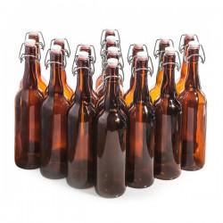 Бутылки с бугельной пробкой 0,75 л. (16 шт.)