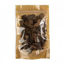 Дубовая щепа, крупная фракция 50 грамм