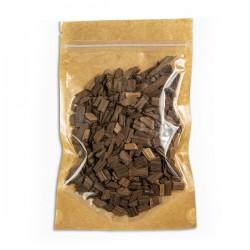 Дубовая щепа, мелкая фракция 50 грамм