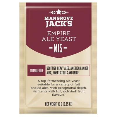 Пивные дрожжи Mangrove Jack\'s CS Yeast M15 Empire Ale (10g) купить