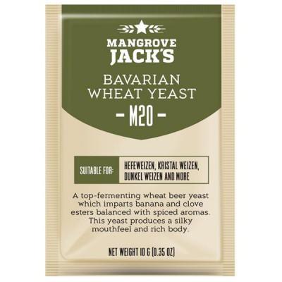 Пивные дрожжи Mangrove Jack\'s CS Yeast M20 Bavarian Wheat (10g) купить