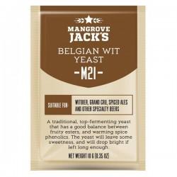 Пивные дрожжи Mangrove Jack's CS Yeast M21 Belgian Wit (10g)