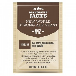 Пивные дрожжи Mangrove Jack's CS Yeast M42 - New World Strong Ale (10g)