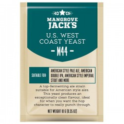 Пивные дрожжи Mangrove Jack's CS Yeast M44 US West Coast (10g)
