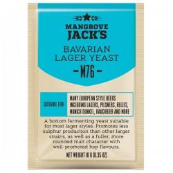 Пивные дрожжи Mangrove Jack's CS Yeast M76 Bavarian Lager (10g)