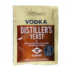 Дрожжи Still Spirits Distillery Yeast Vodka with AG 72g