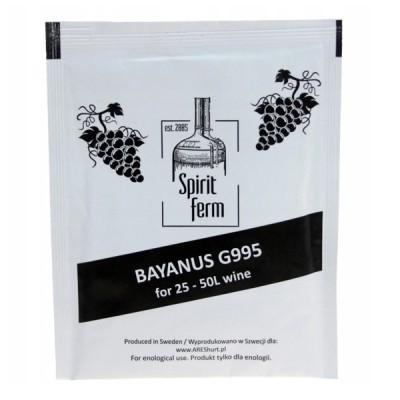 Винные дрожжи Spirit Ferm wino bayanus G995 купить